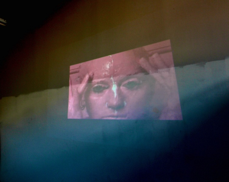 Maeshelle West-Davies, Baggage (Video Still from performance), 2014