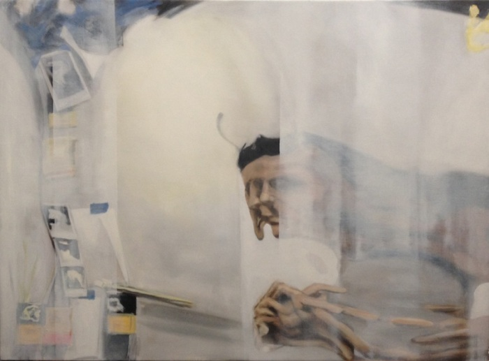 Eric Mavko, Untitled (White Haze), 44x60""