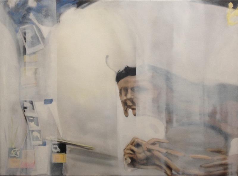 "Eric Mavko, Untitled (White Haze), 44x60"""
