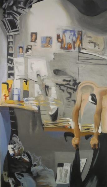 """Eric Mavko, Untitled (Studio), 84x48"""""""