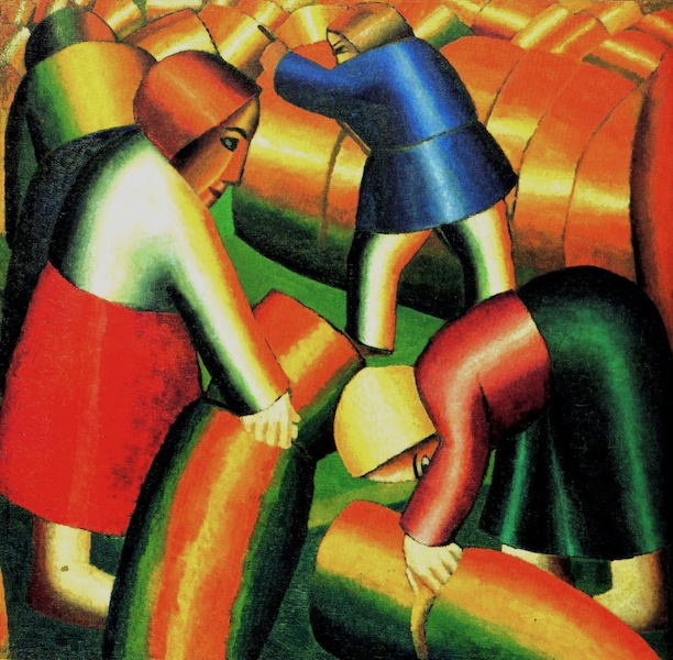Kazimir Malevich, Taking in the Rye