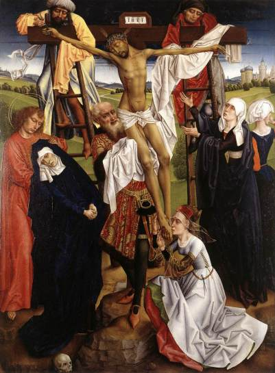 Unknown Flemish Master, The Deposition (active 1470s in Brussels)