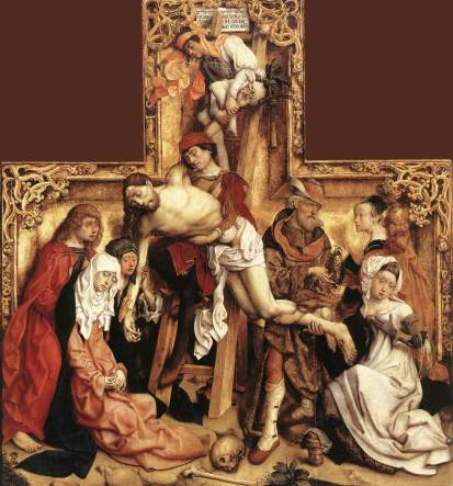 Master of the St. Bartholomew Altar, The Descent From the Cross