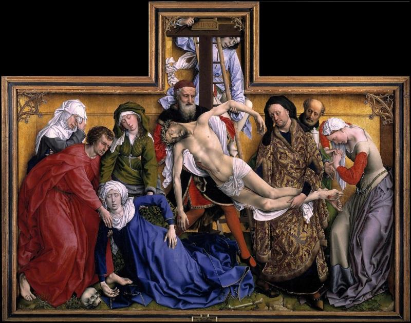 Rogier Van Der Weyden's Deposition, 1435