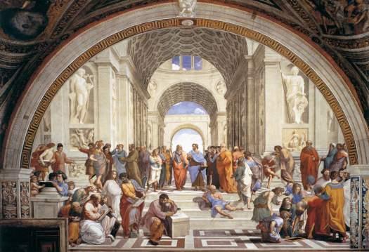 Raphael – School of Athens, Stanza della Segnatura