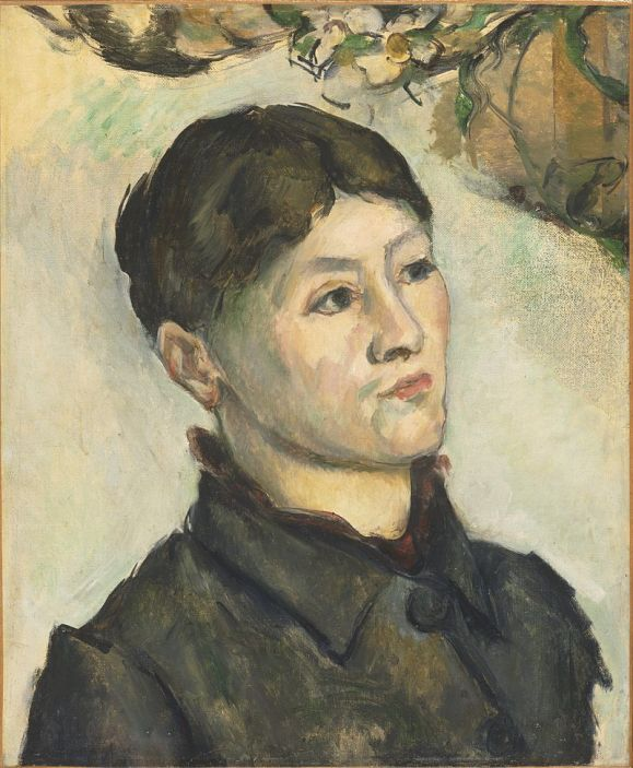 Portrait of Madame Cézanne, 1885