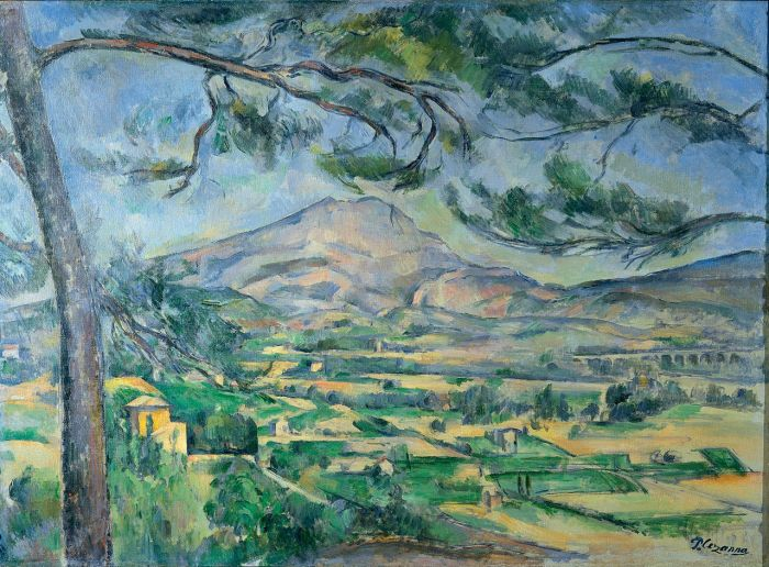 Mont Sainte-Victoire with Large Pine, 1887