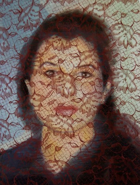 Banaz, oil on canvas