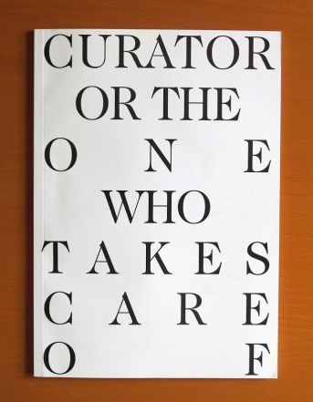 Curator or the one who takes care of, edition of 200, 2015