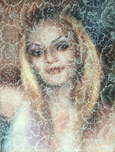 Melissa, oil on canvas